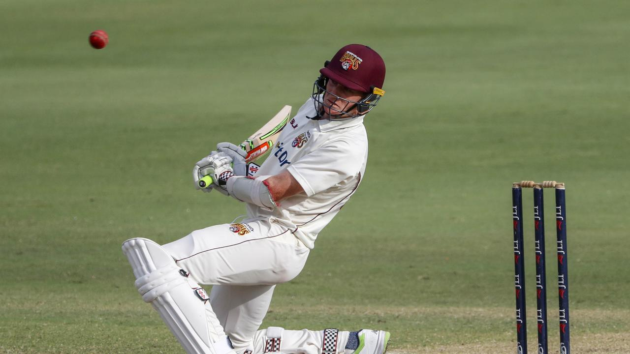 THE RETURN: Brendan Doggett will be back in action for the Queensland Bulls during the 2020/21 first-class season.  Picture: AAP Image/Glenn Hunt