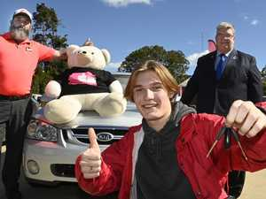 Car donation helps turn young man's life around