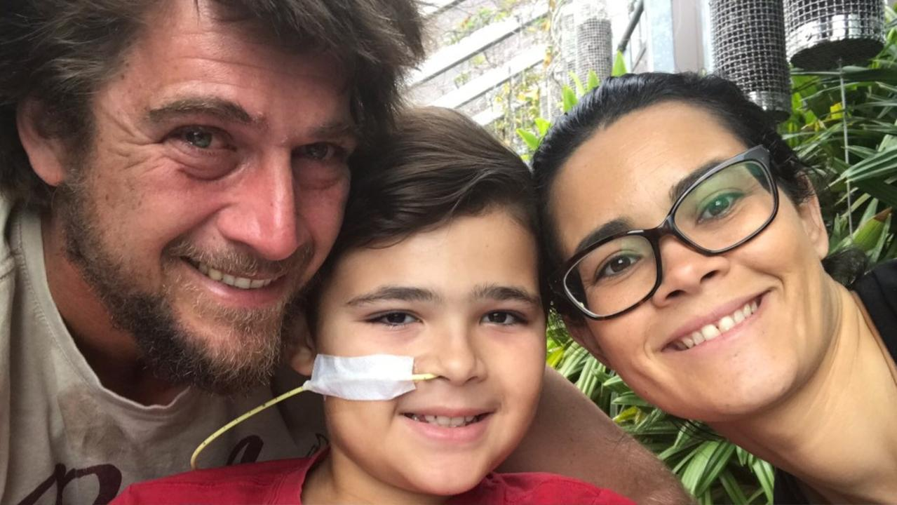 Parents Karissa and Jimmy Head have been overwhelmed by the community support for their son Bodie as he embarks on a long road to recovery from severe burns to his legs