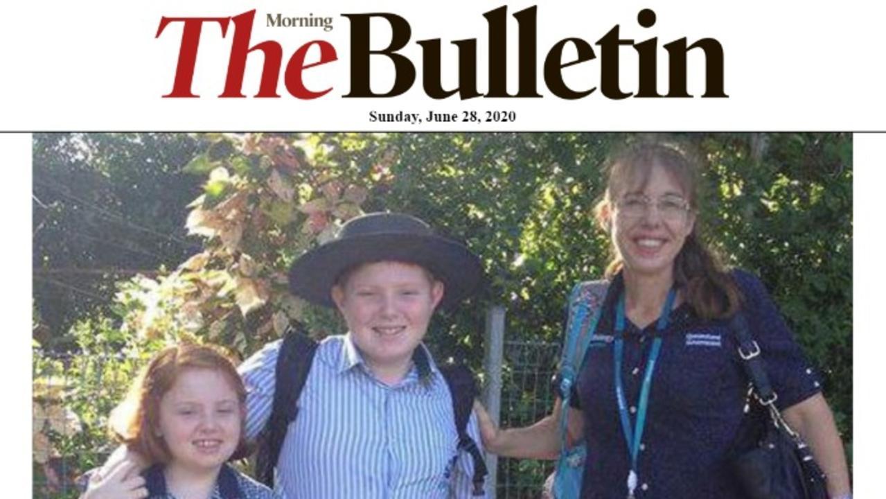Sunday's digital edition of The Morning Bulletin.
