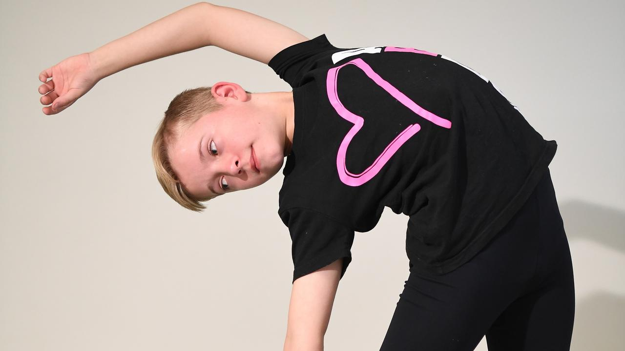 Olli Simmonds dreams of becoming a professional dancer. Picture: Warren Lynam.