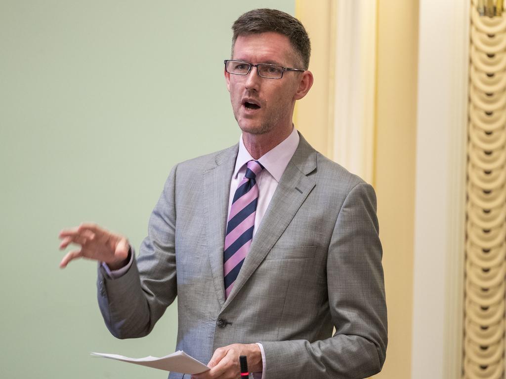 Queensland Transport Minister Mark Bailey