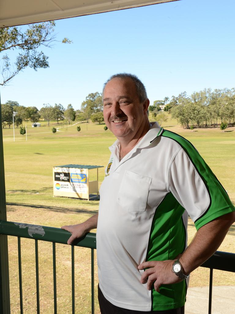Among his many achievements, Darryl O'Sullivan received a life membership to the Ipswich and West Moreton Cricket Association. Picture: Sarah Harvey