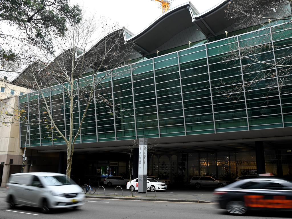 The ABC building in Sydney. Picture: AAP Image/Joel Carrett