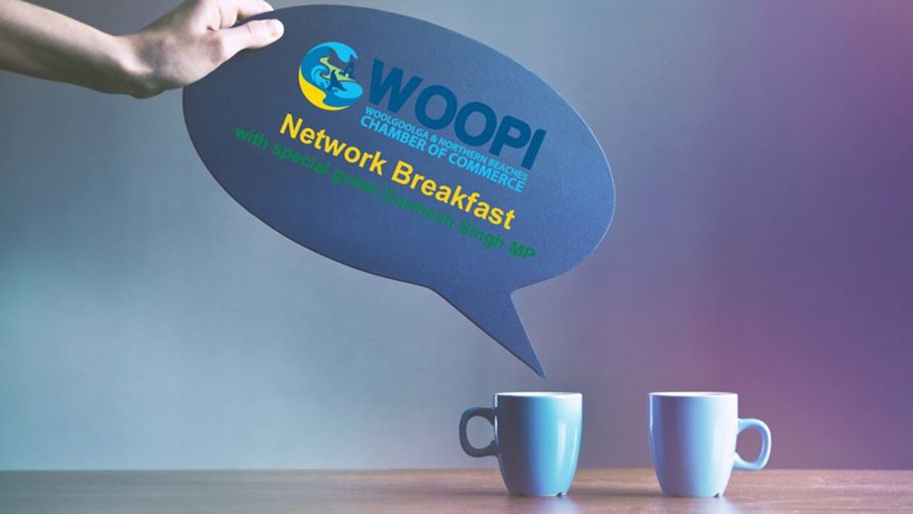 The Woolgoolga Chamber of Commerce is hosting its first networking breakfast this Thursday.