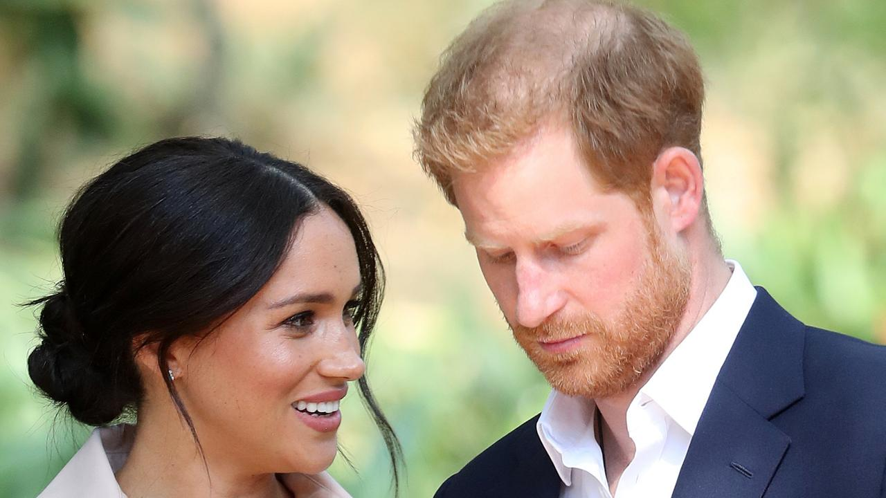 Meghan Markle is said to be thrilled to be back in her native America, but Prince Harry is struggling. Picture: Getty Images