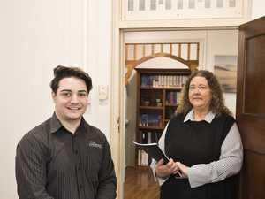 Daniel Foelz and Carmen Lawson of Lawson Accounting
