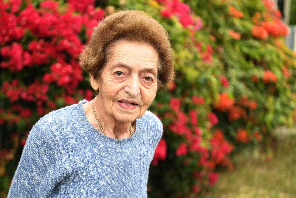 Image for sale: Rita George's colourful bouganvillea in South Rockhampton