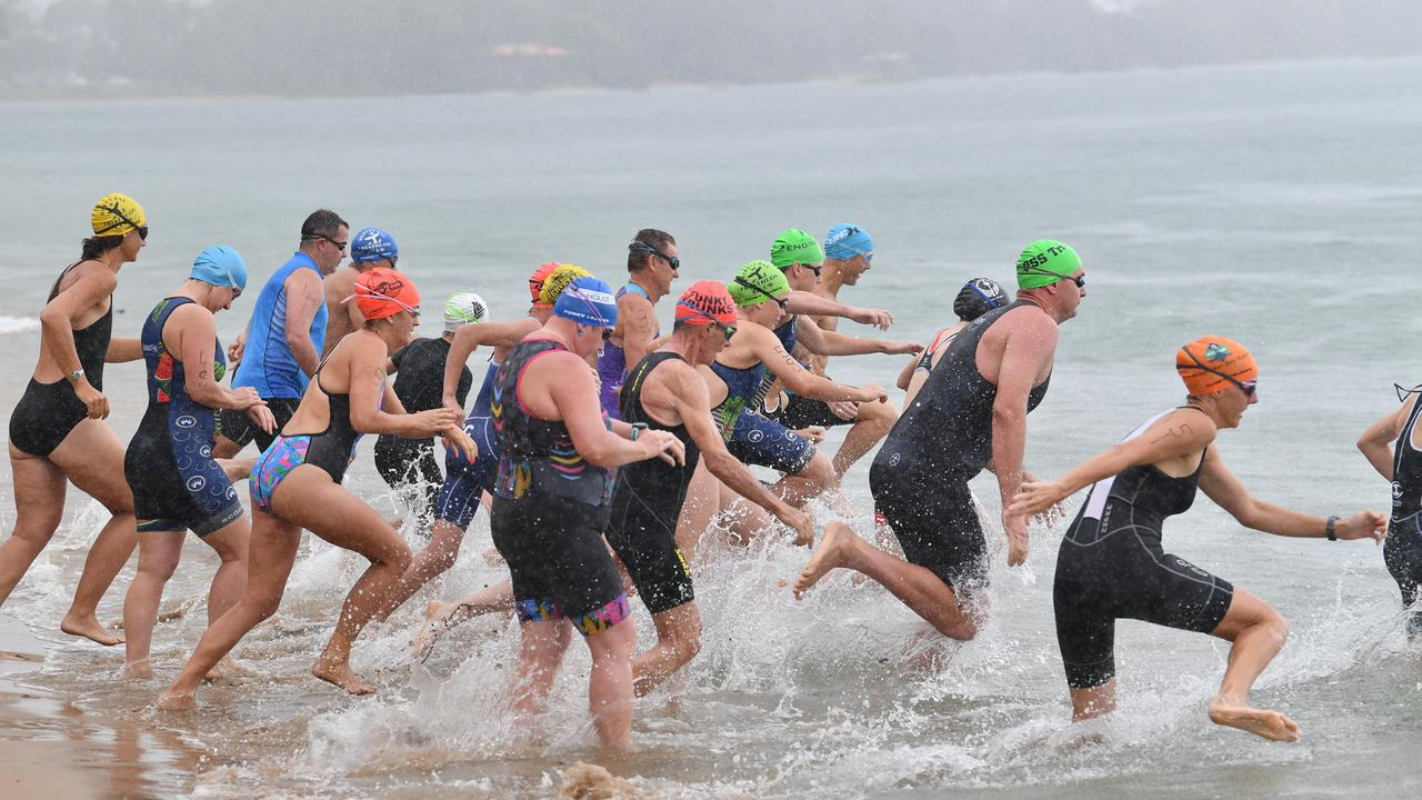 Hervey Bay Tri Club races will be more sun safe after a Council grant. Photo: Alistair Brightman
