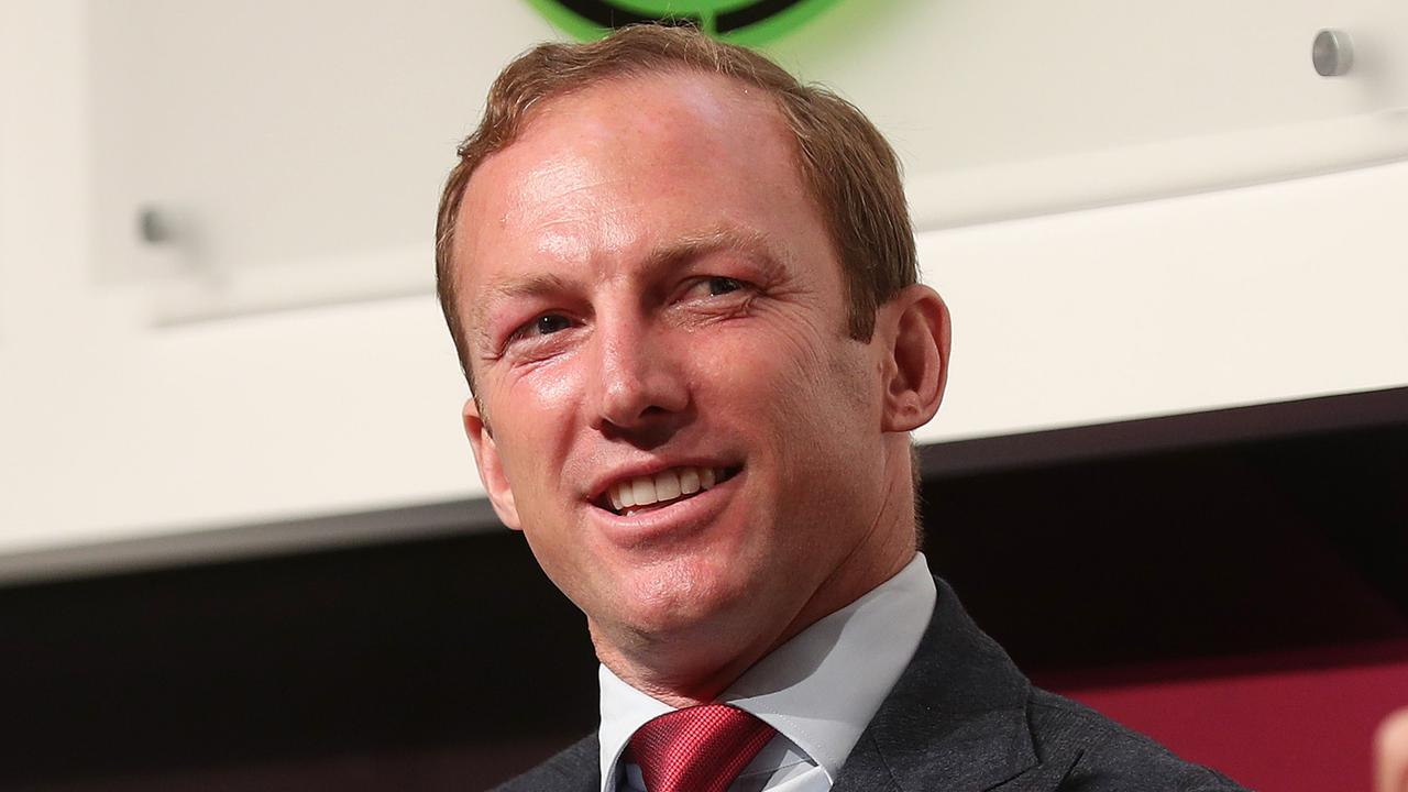 Karl Morris said club legend and board member Darren Lockyer was not immune from criticism at Red Hill. Picture: Tara Croser