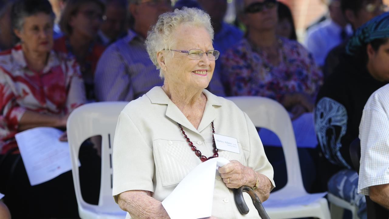 Shirley Adams, OAM, at the official opening of Grafton Base Hospital redevelopment. Photo JoJo Newby / The Daily Examiner