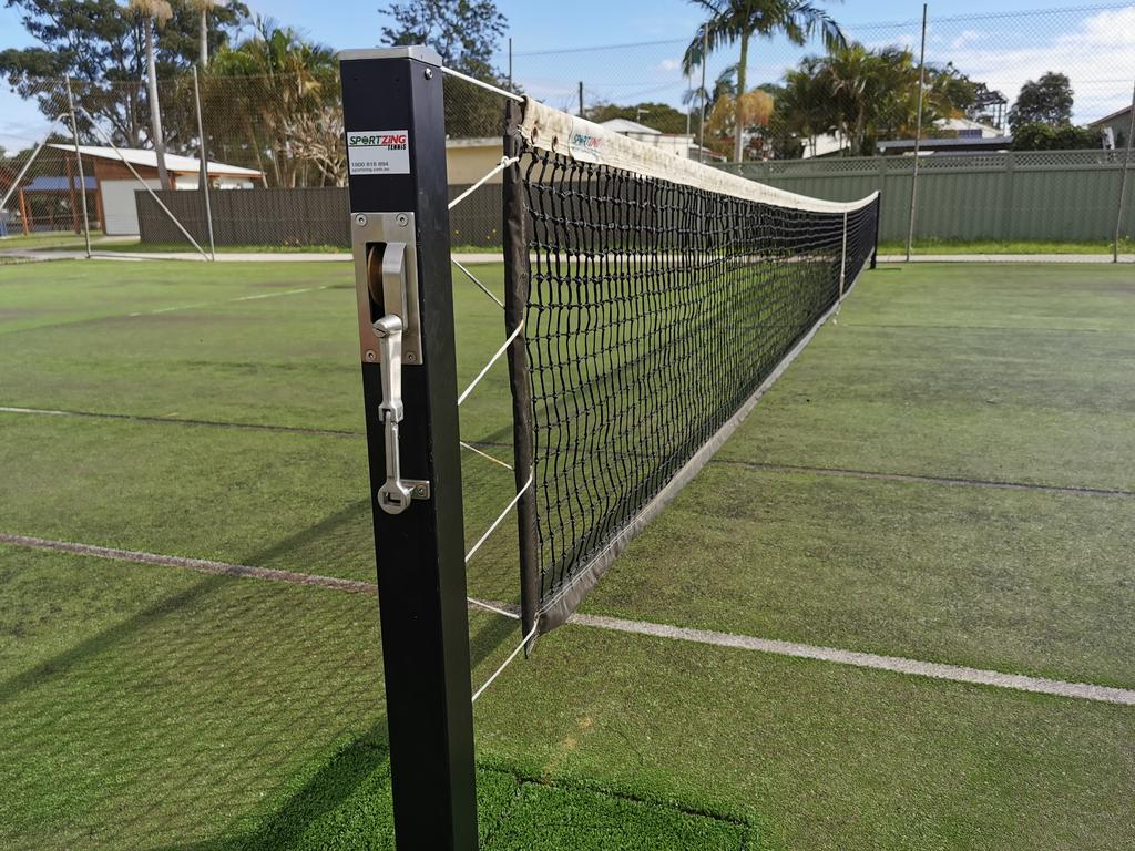 TENNIS: Broadwater Tennis Club have installed removable posts to their courts to allow for more sports to be played at the courts.