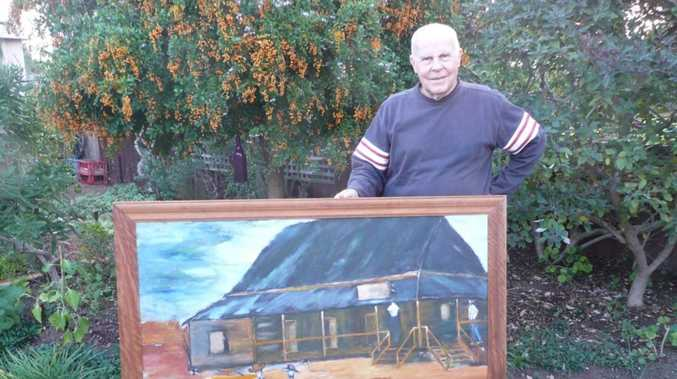 KNOW THIS PAINTING? Former resident to return piece