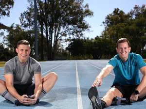 Men on a mission: Pair to run 120km in 48 hours