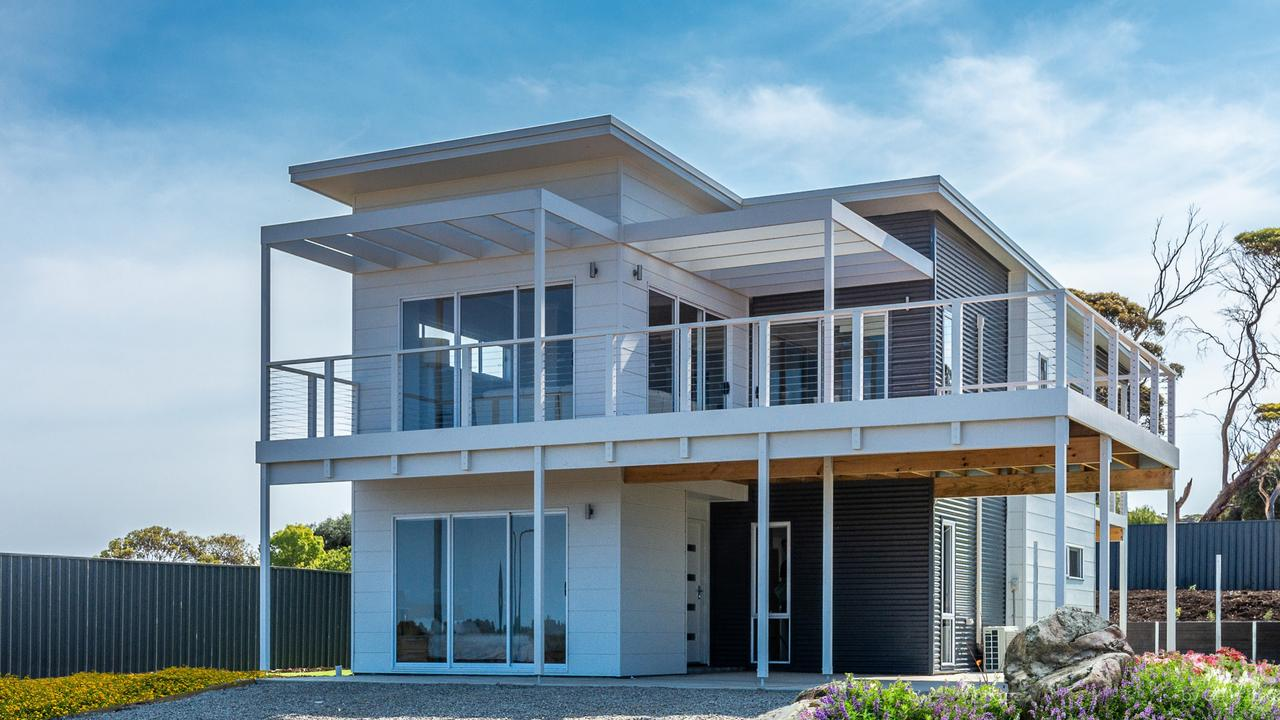 Supplied Real Estate SA Home mag: Rivergum Homes - Kangaroo Island development at Emu Bay