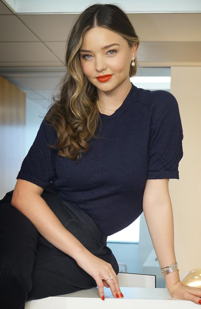 Miranda Kerr has three sons, Flynn, 9, Hart, 2, and Myles, eight months. Picture supplied