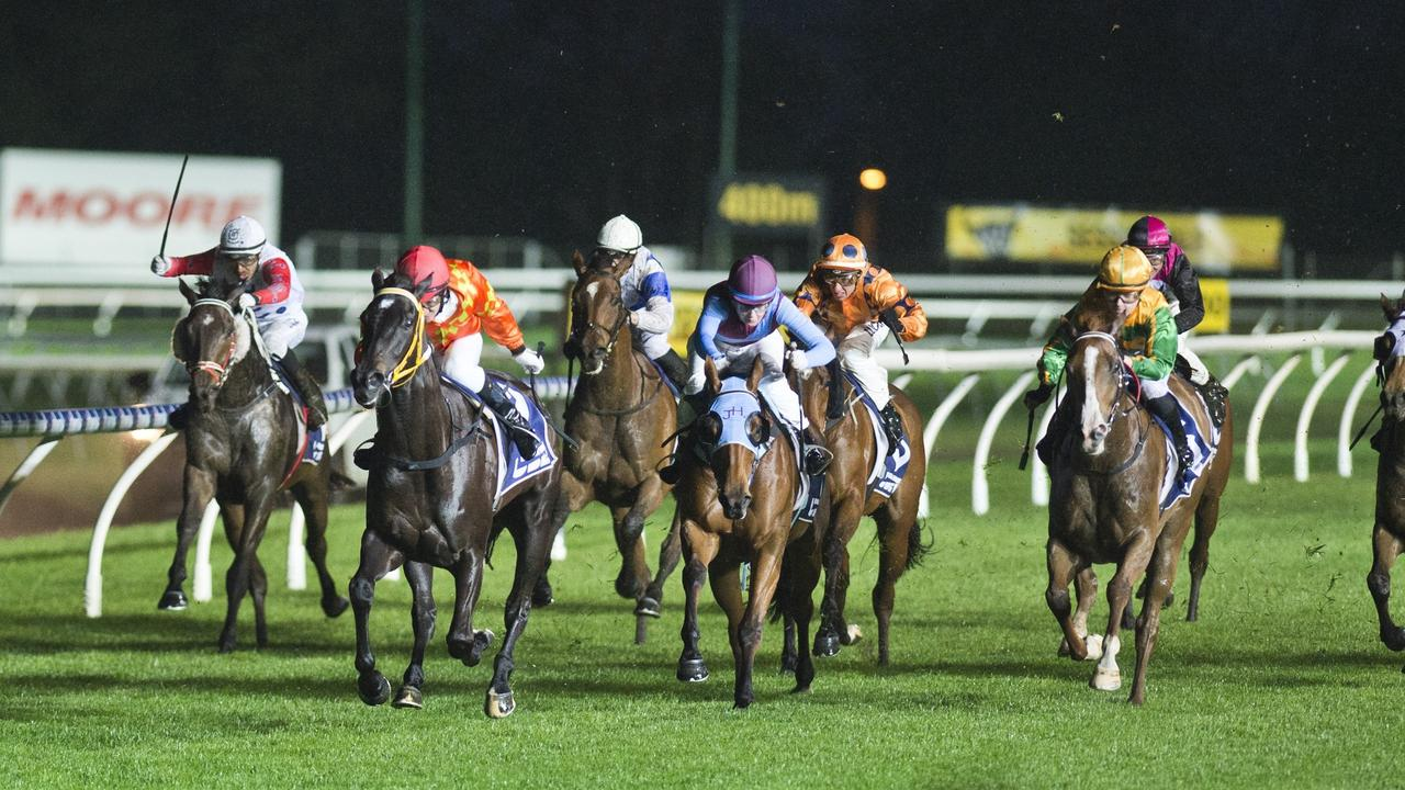 THEY'RE OFF: Racing is set to return to Saturday nights at Clifford Park. Photo: File