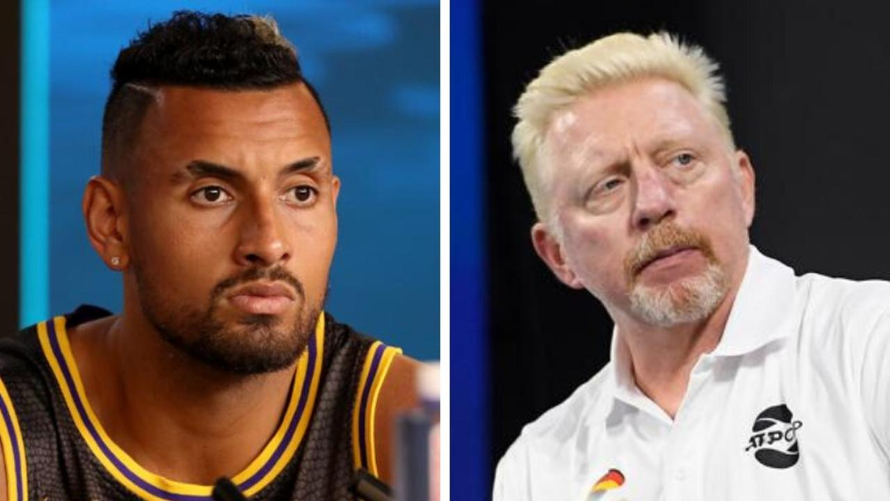 Australian bad boy Nick Kyrgios and former World No. 1 Boris Becker have butted heads in an explosive war of words on Twitter.