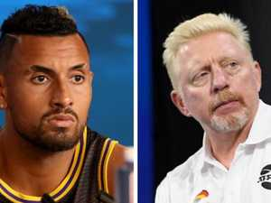 Kyrgios slams tennis great in Twitter war