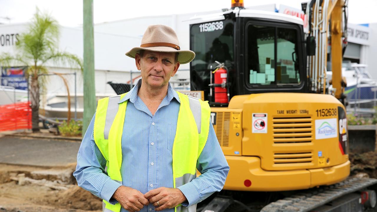 Rockhampton Region Councillor, Tony Williams.