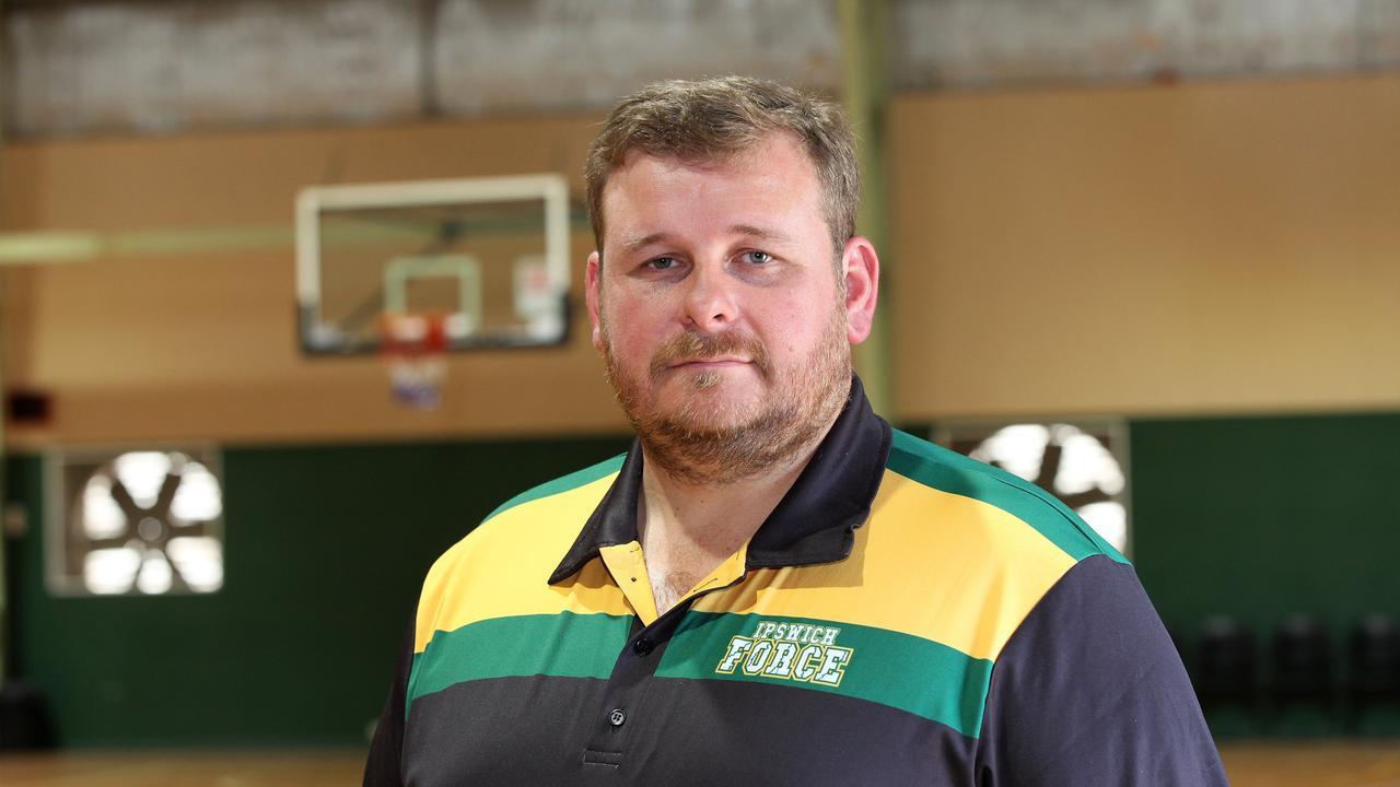Ipswich Force coach Chris Riches.