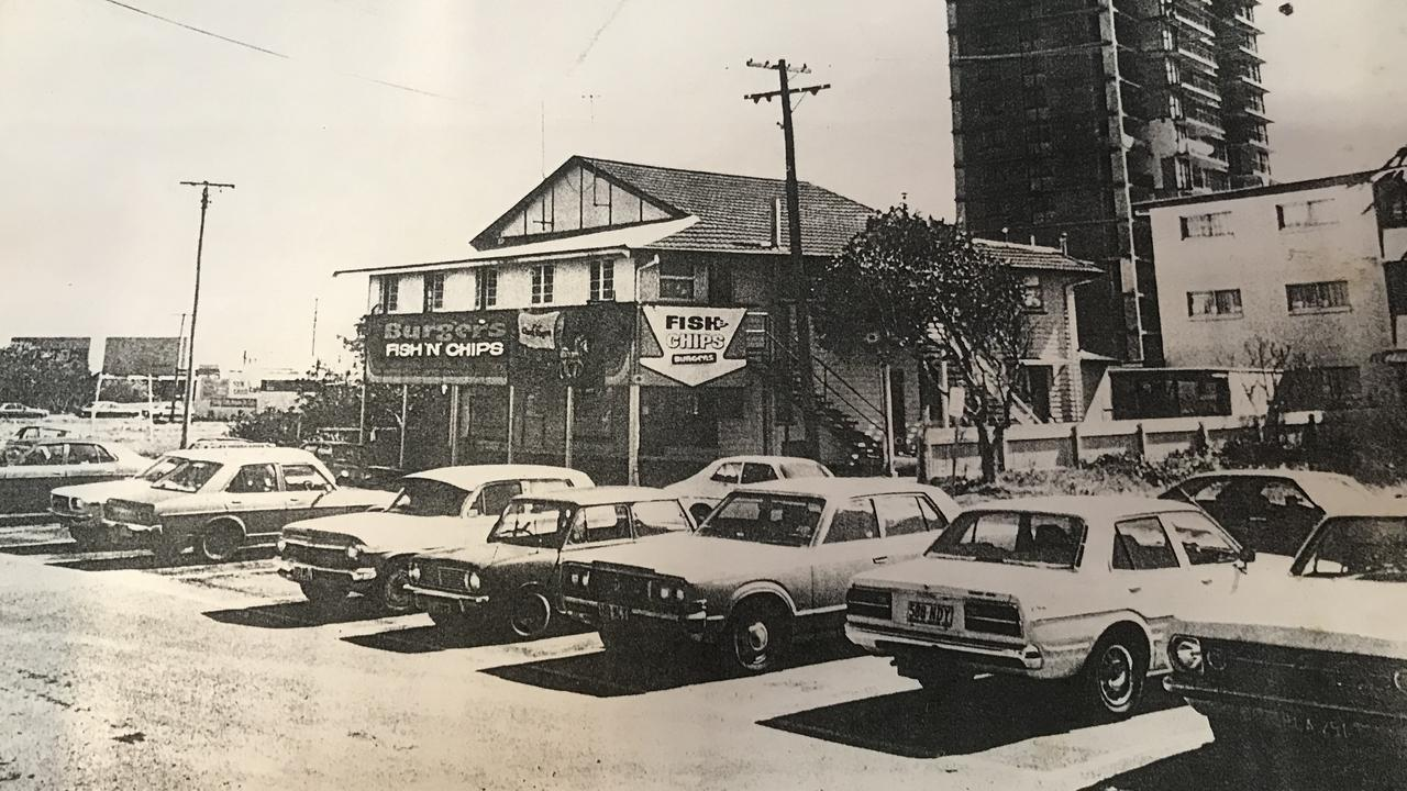 Weir's Inside Edge surf shop owner Bryan Weir and his siblings have put the 14 Memorial Ave block on the market which has been in their family for five generations. The shop is pictured in 1982.