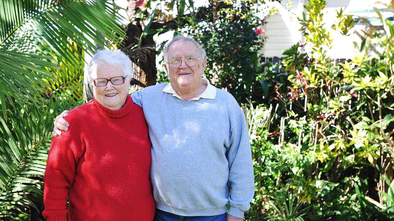 Shirley Adams, OAM, and John Adams, OAM, both thoroughly enjoy doing volunteer work within the Clarence Valley. Photo: JoJo Newby/The Daily Examiner