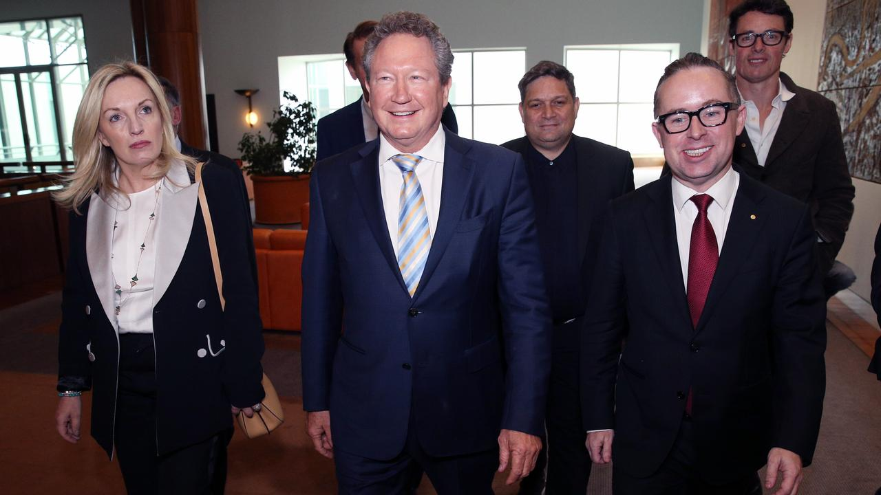 Christine Holgate, Andrew Forrest and Alan Joyce are among business and community leaders who comprise the Nation Brand Advisory Council that oversaw the development of a new nation brand. Picture Gary Ramage