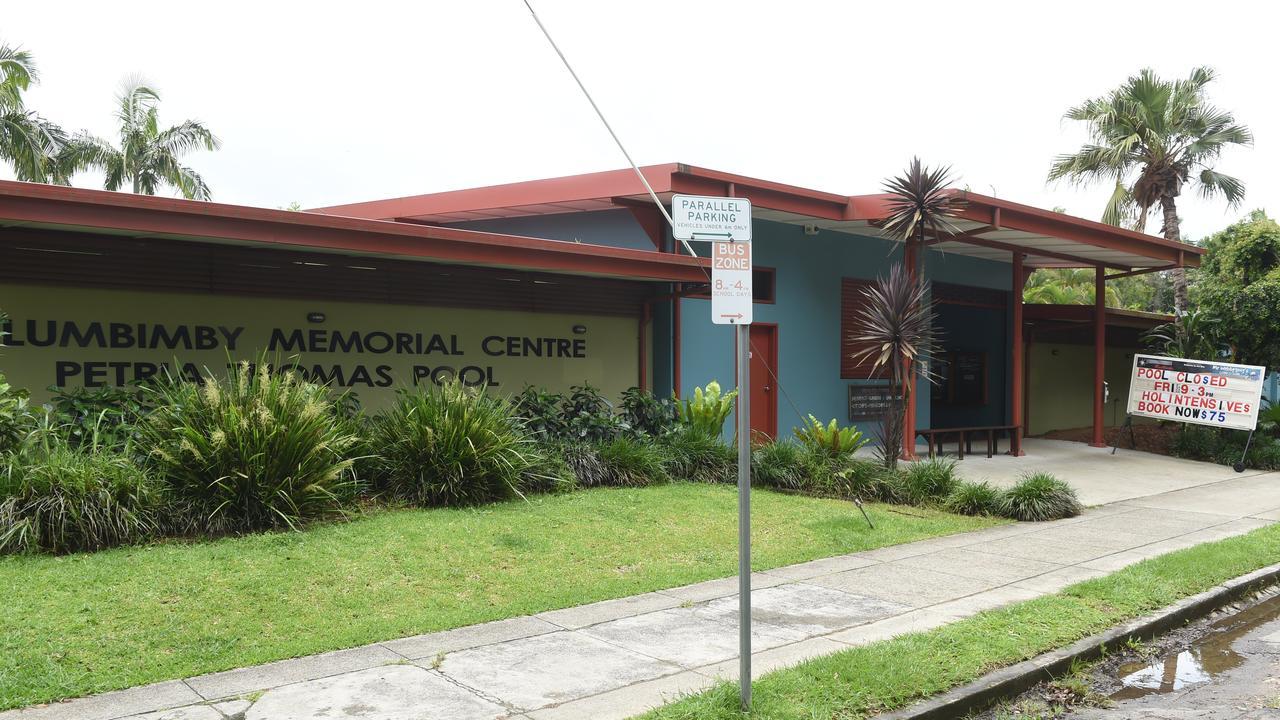 The Mullumbimby Memorial Centre Petria Thomas Pool.