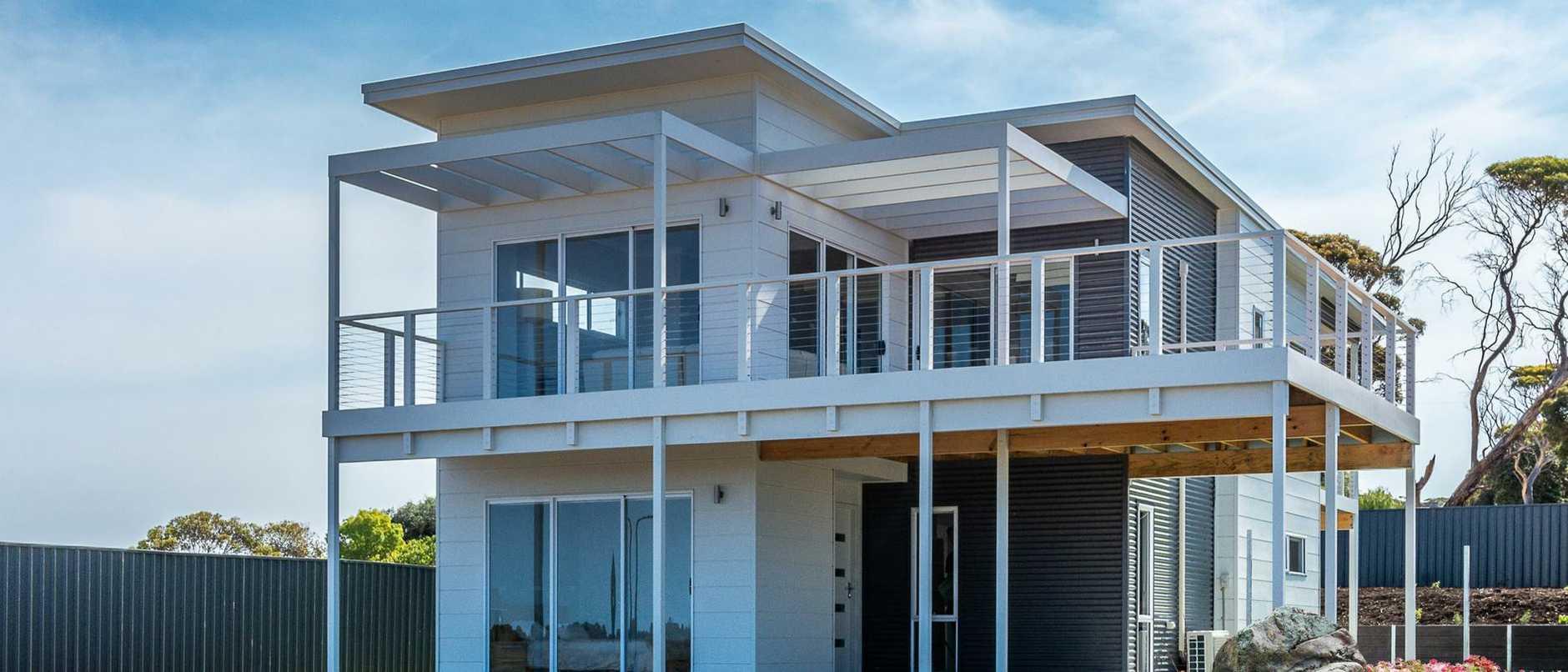 Supplied Real Estate SA Home mag: Rivergum Homes - Kangaroo Island development at Emu Bay
