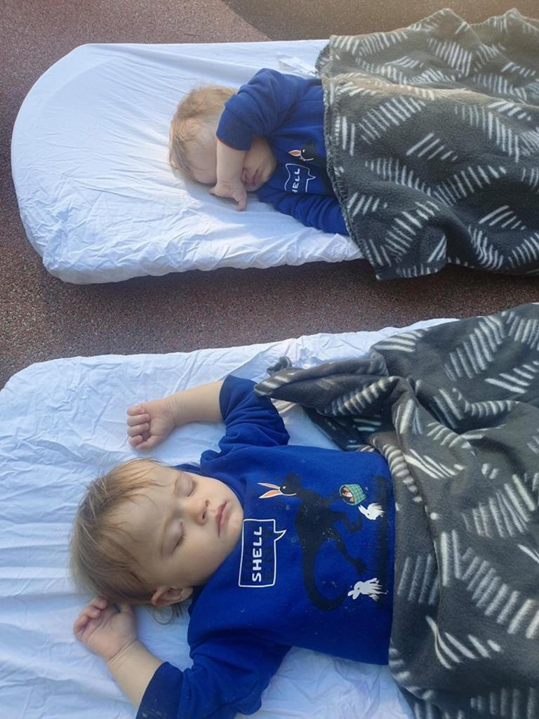 SLEEPING OUTDOORS: Children at Bundaberg's Paisley Park have enjoyed the benefits of sleeping outside with the centre's new program.