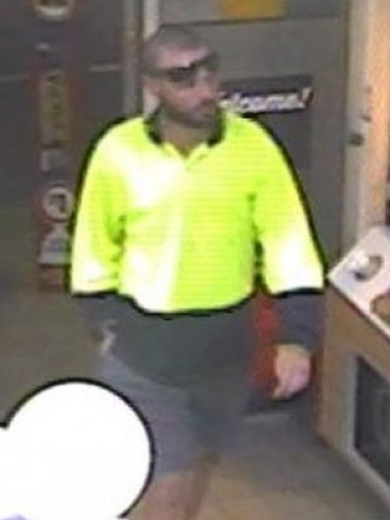 This man is wanted for questioning over theft on River Rd in July last year.