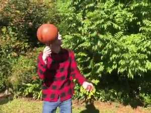 Brendan Kelbie basketball spinner