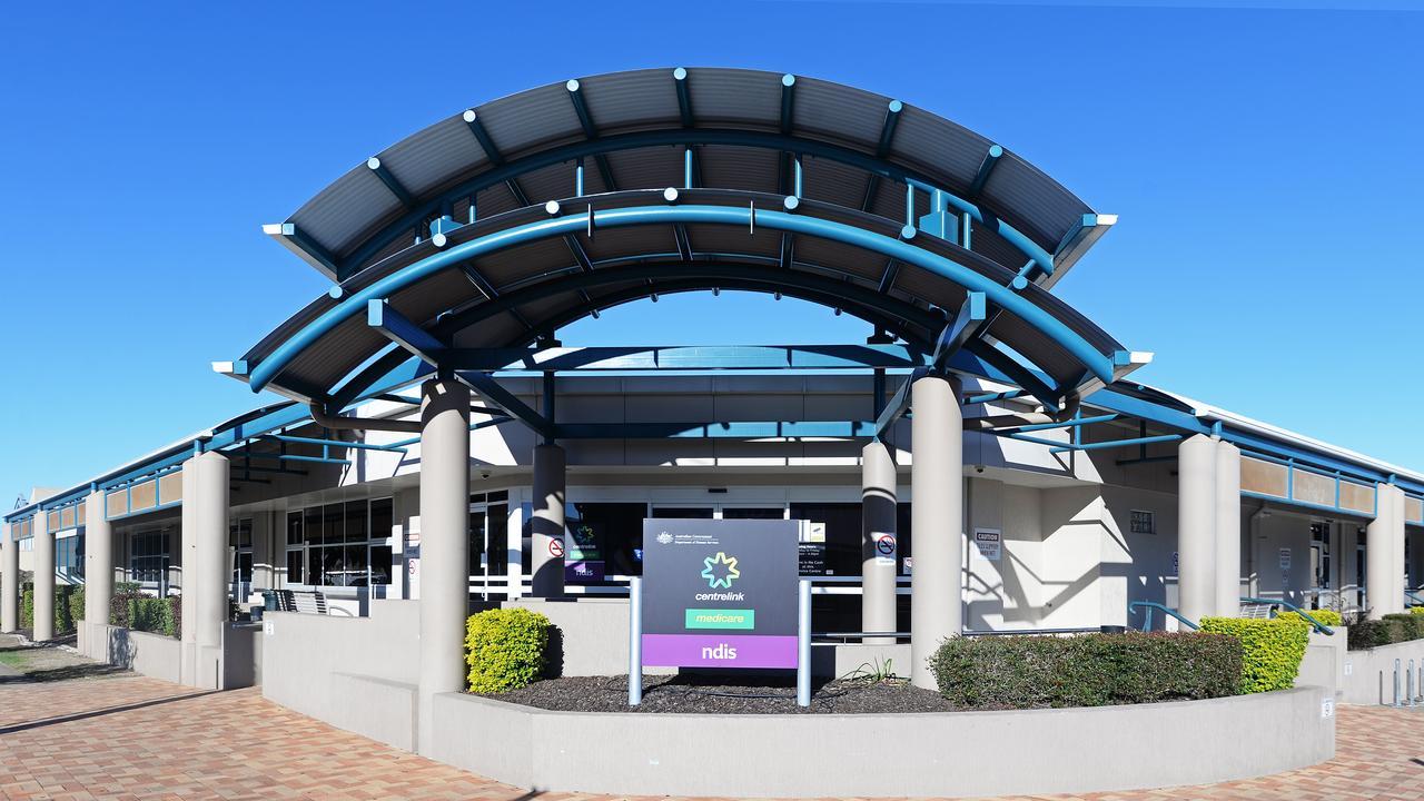 Centrelink Bundaberg. Picture: Brian Cassidy