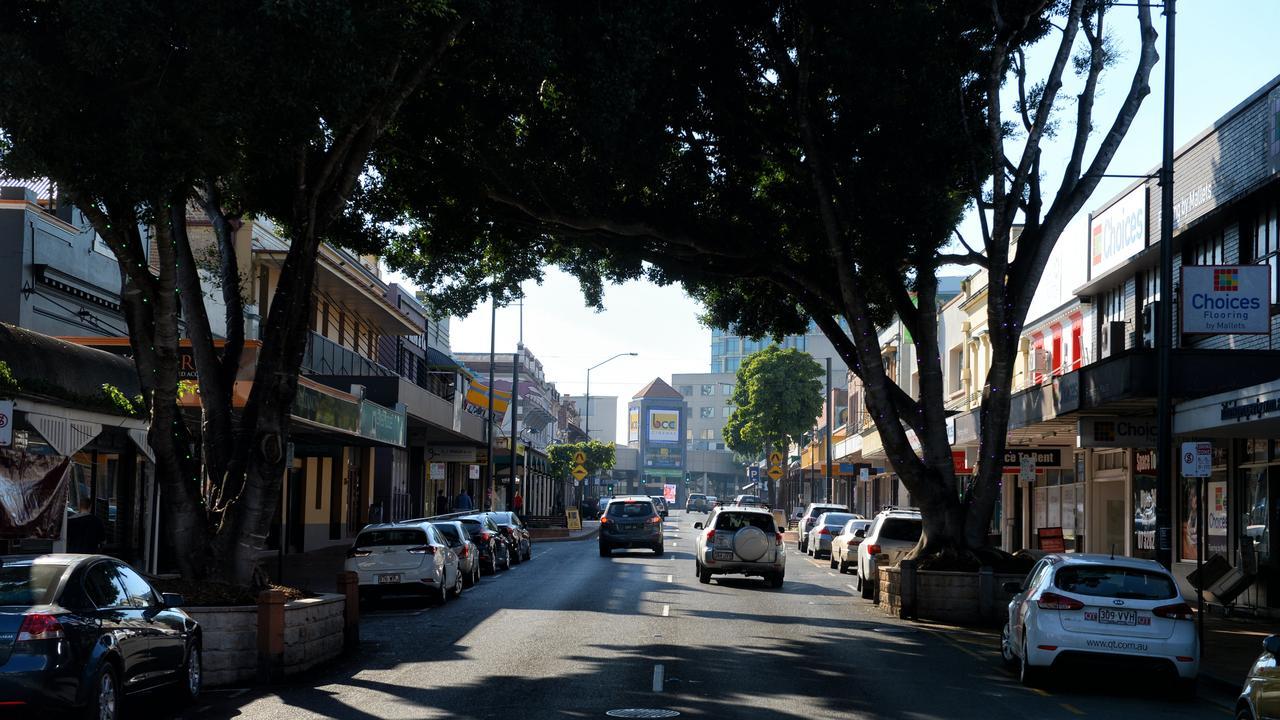Brisbane Street. Ipswich CBD. Top of Town