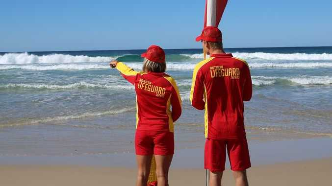 ON PATROL: Lifeguards are back on Clarence Valley beaches for the busy summer period.