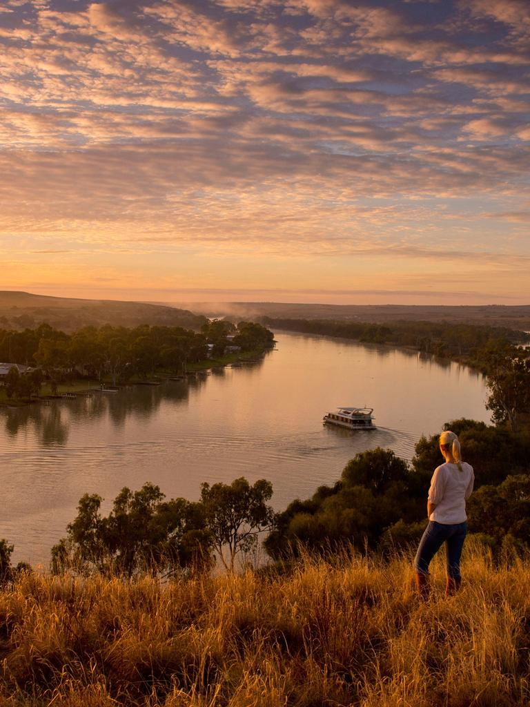 A trip down the Murray River in South Australia will have to wait. Picture: Adam Bruzzone