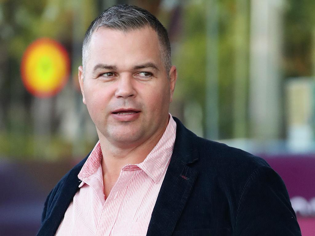 Under fire Broncos coach Anthony Seibold. Picture: Liam Kidston