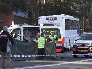 Teen dies after being hit by school bus