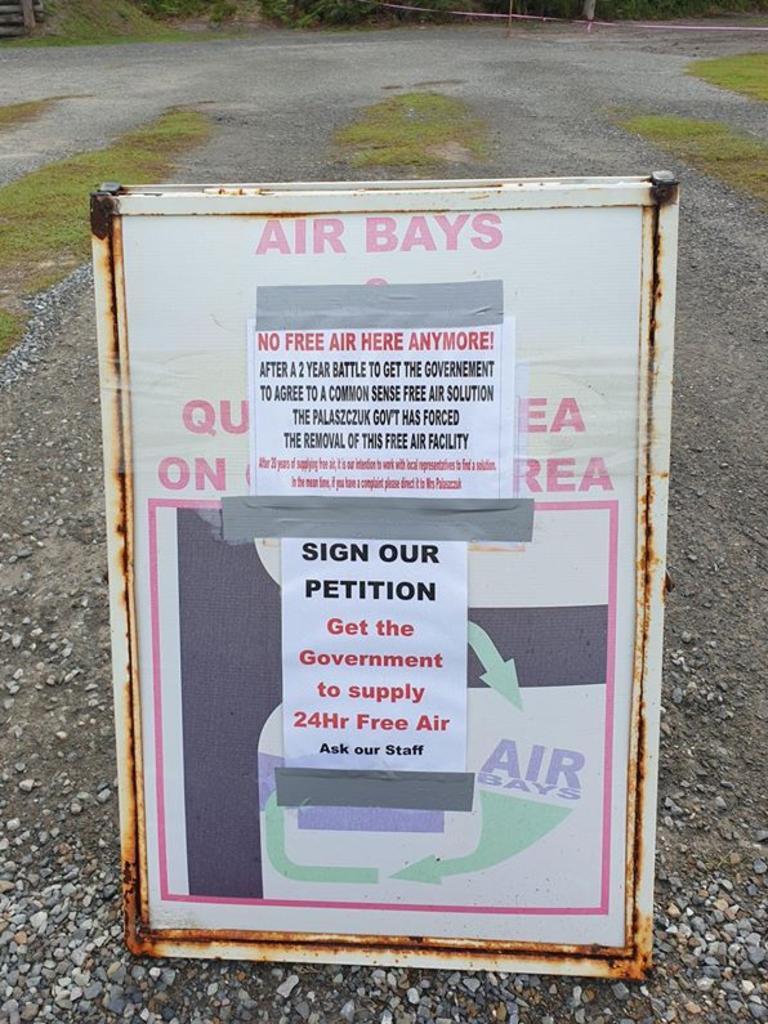 Disbelief As Rainbow Beach Free Air Pump Canned Sunshine Coast Daily