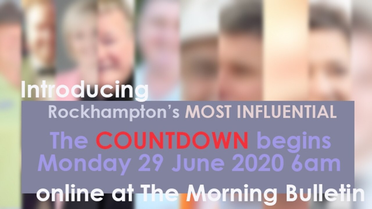 Introducing Rockhampton's Most Influential Fifty (Nos 41-50) banner