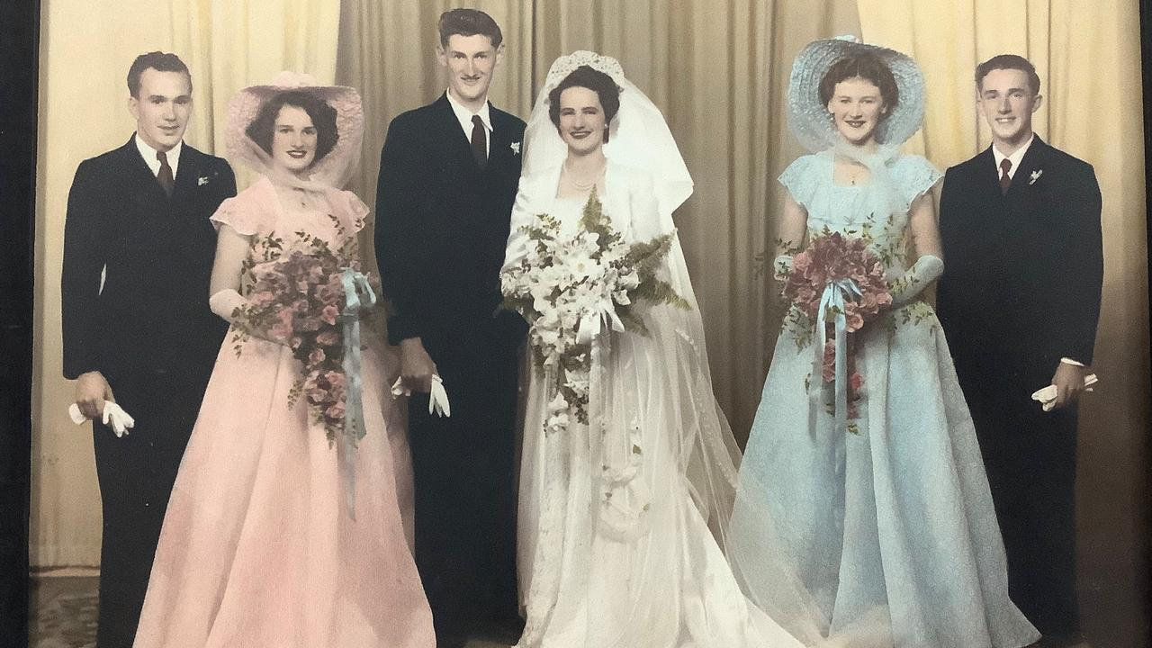 SOCIAL BUTTERFLIES: Husband and wife Eric and Norma Cawte first met out at an event and have just celebrated their 70th wedding anniversary.