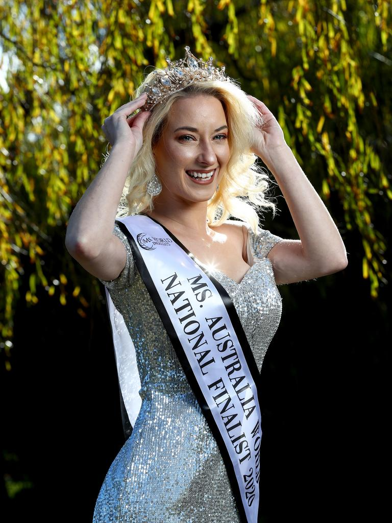 30-year-old Sydneysider Chantelle O'Donohoe, a finalist at Ms World Australia. Picture: Toby Zerna