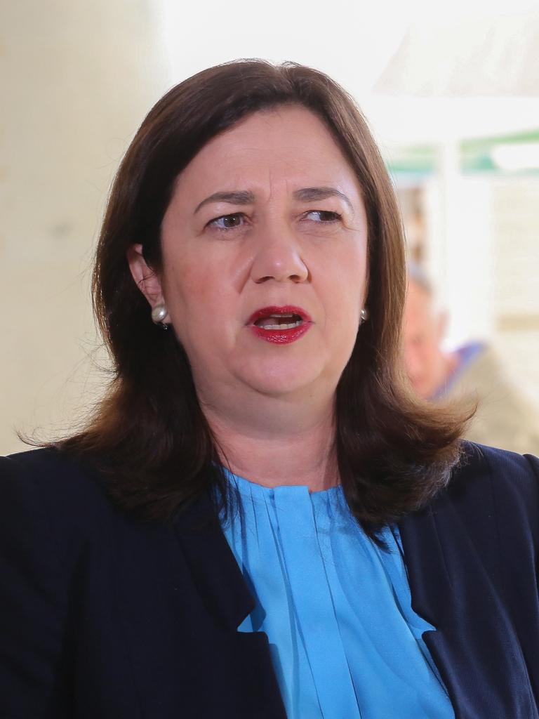 Queensland Premier Annastacia Palaszczuk has urged all Queensland residents not to travel to Victoria. Picture: David Kapernick