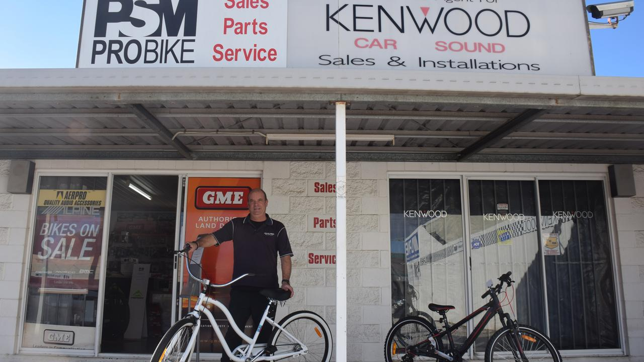 LOCAL BUSINESS: PMR Probike shop have experienced some of their busiest trading periods over the past few months. (Picture: Tristan Evert)