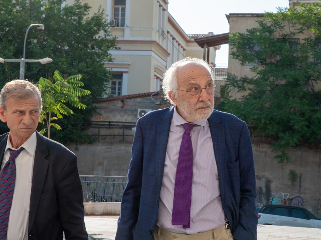 Defence lawyer Alexandros Lykourezos. Picture: Spyros Bakalis