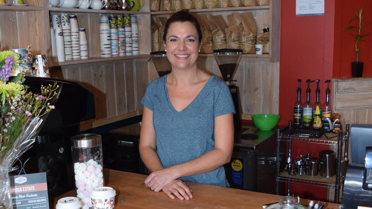 Camille Nash, now former owner of Craft Punk Espresso.