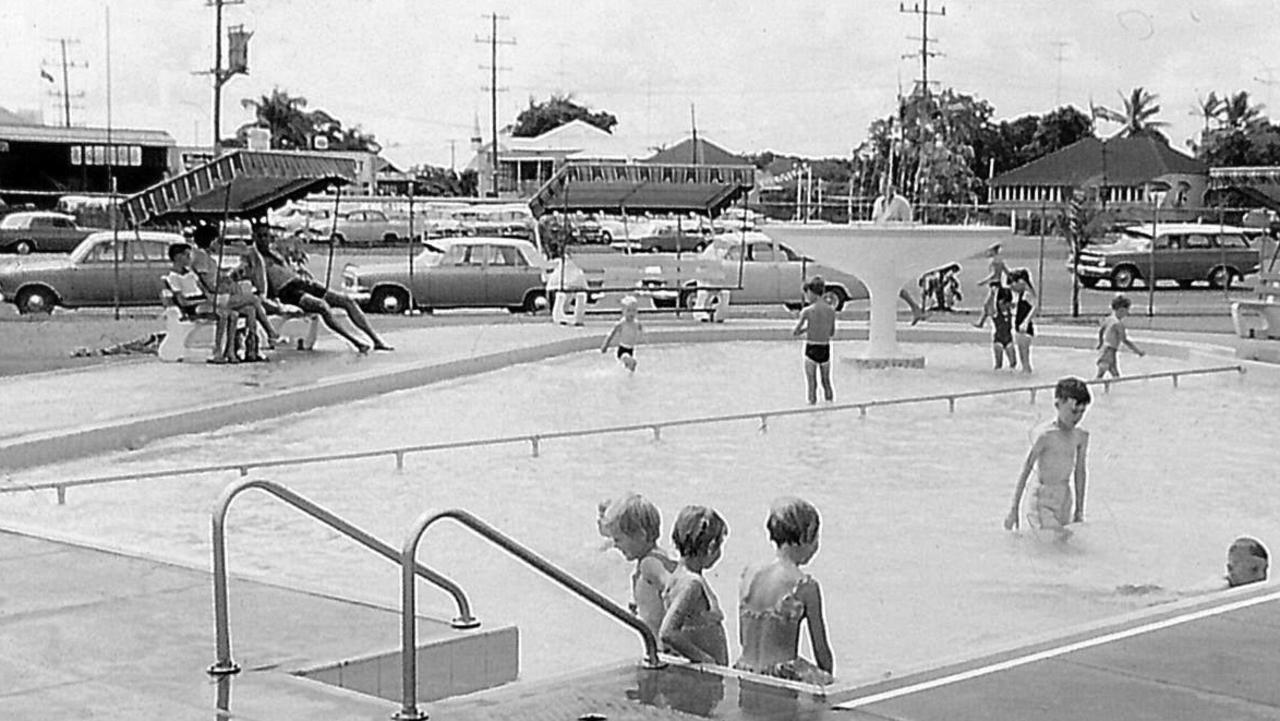 The opening of the Mackay War Memorial Swimming Pool in Milton Street in 1963. It was built at a cost of 90,000 pounds. Picture: Daily Mercury Archives.