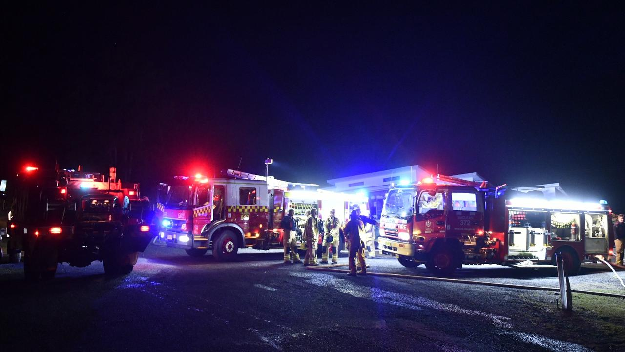 Fire crews attended a shed fire at Illarwill on Wednesday, 1st July, 2020.
