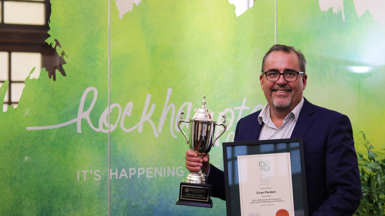 Rockhampton Regional Council CEO Evan Pardon